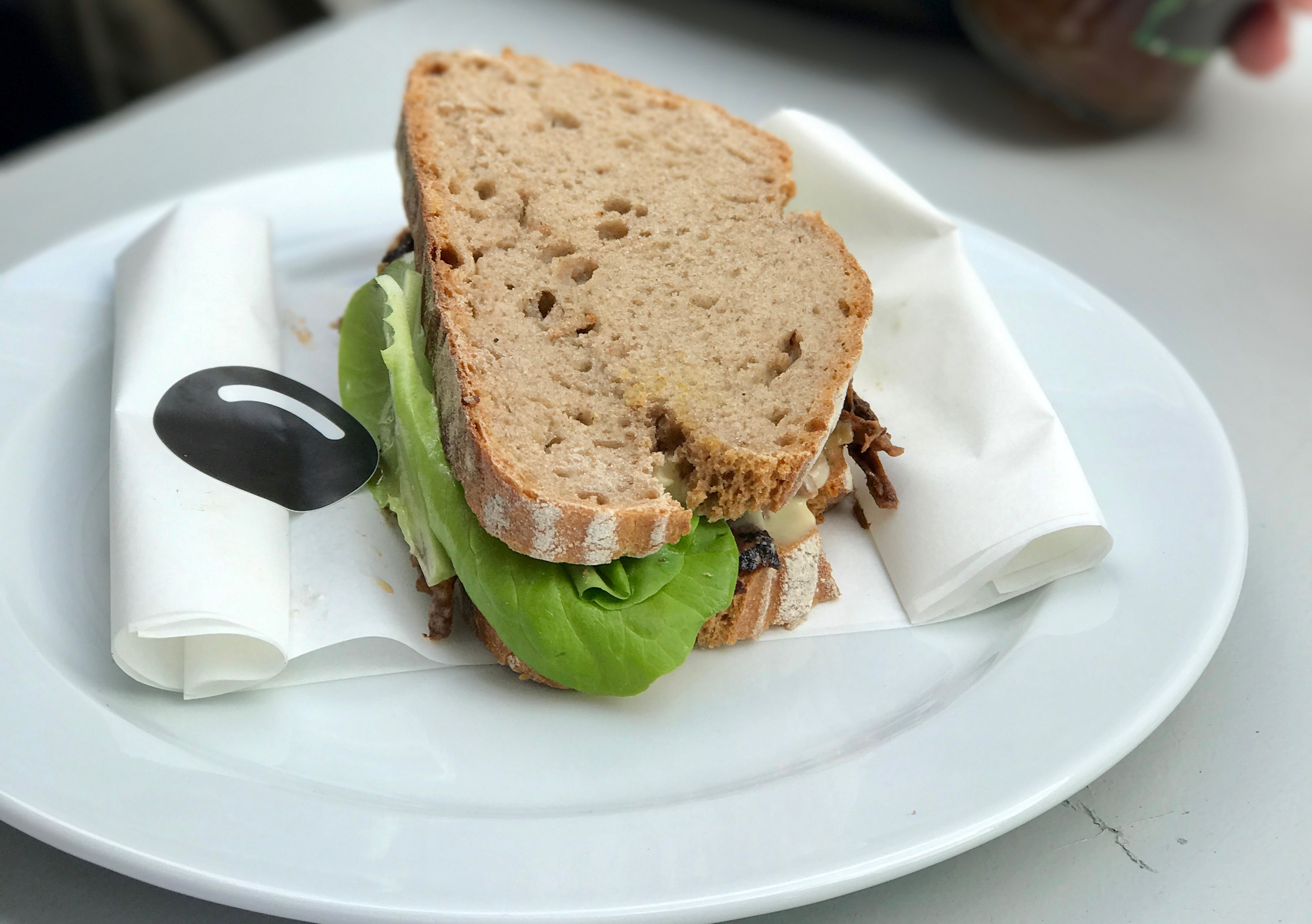 Good Bank Beef Brisket Sandwich