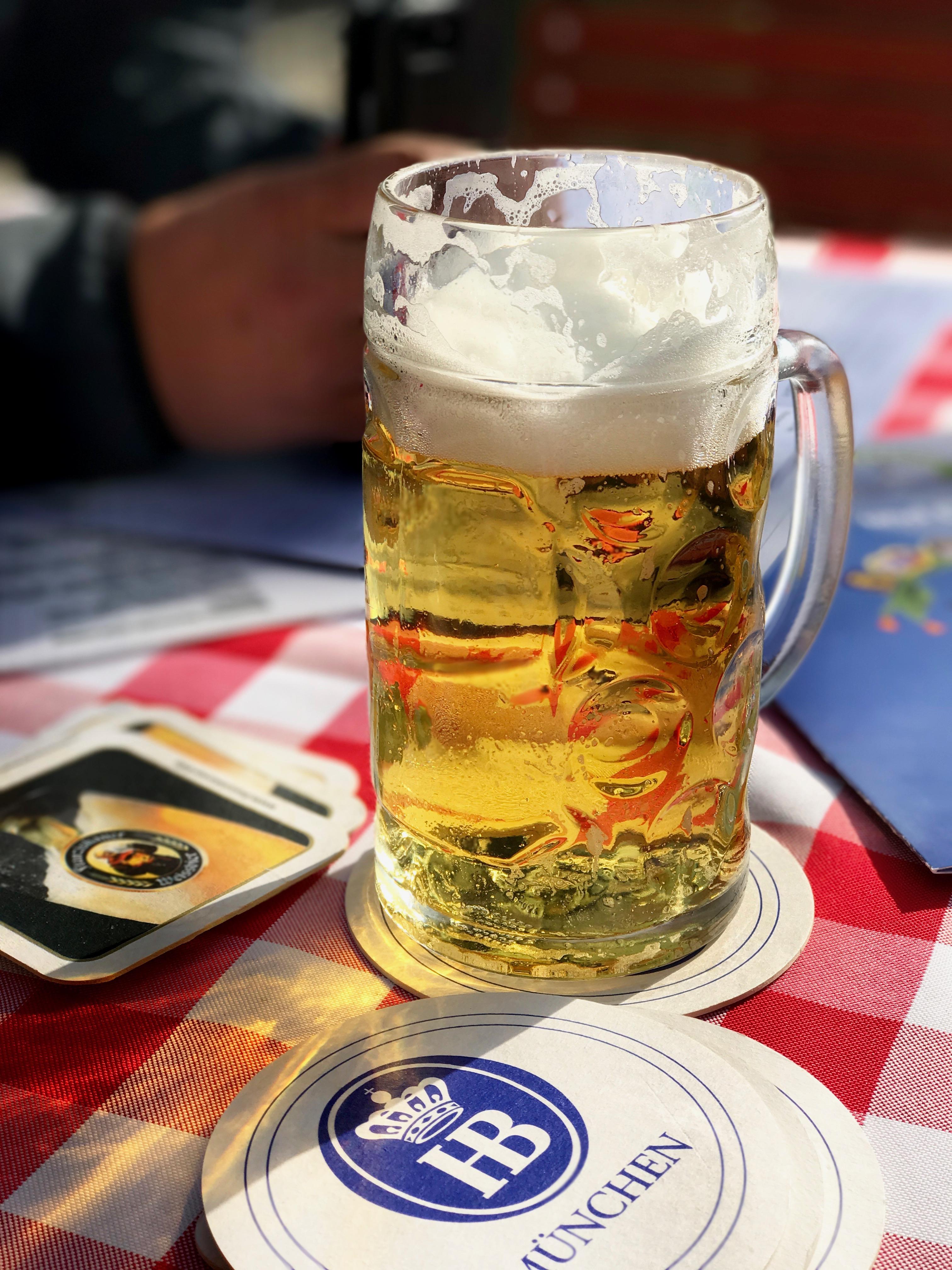Viktualienmarkt HB-Bier
