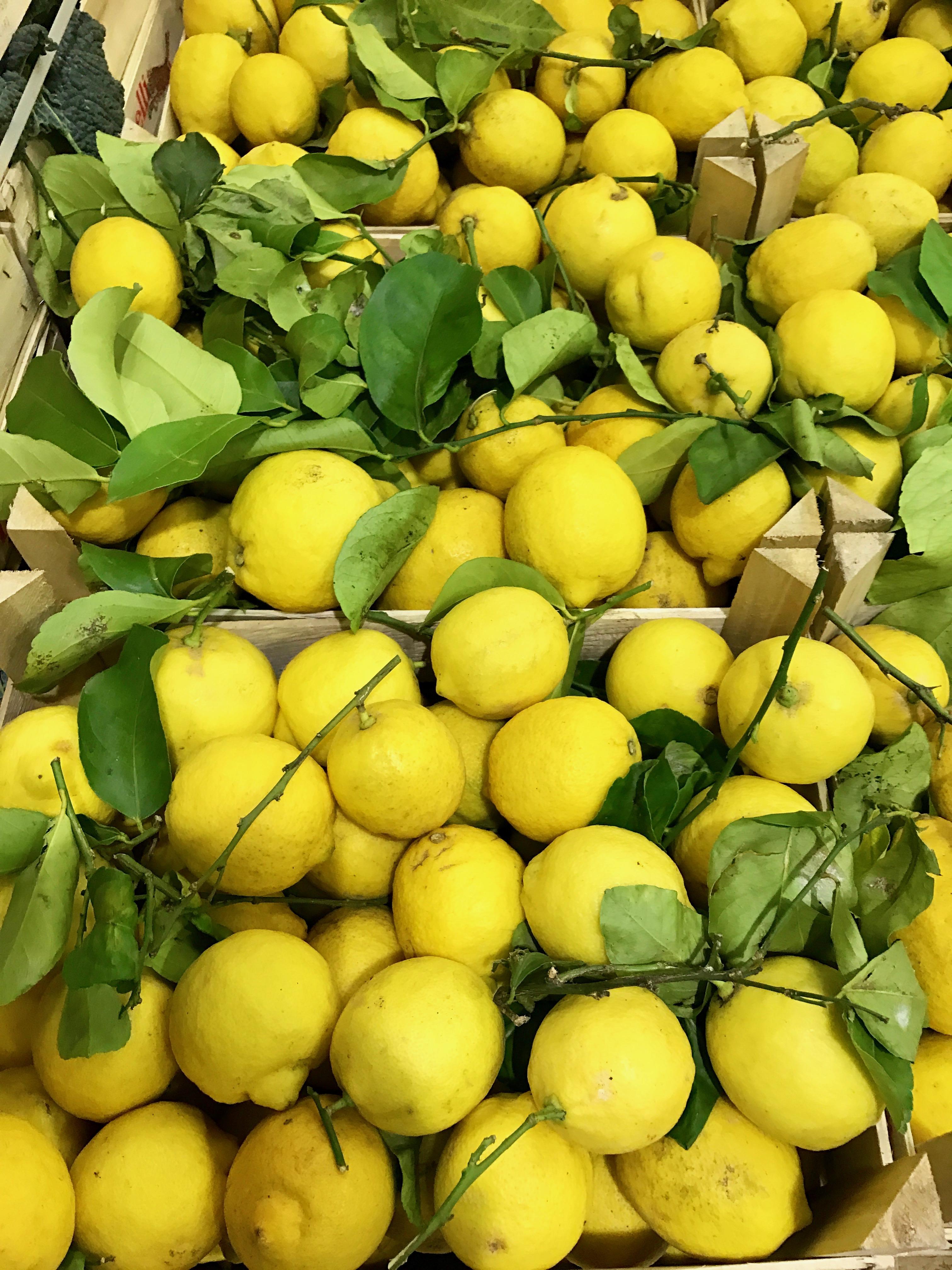 Zitronen vom Großmarkt