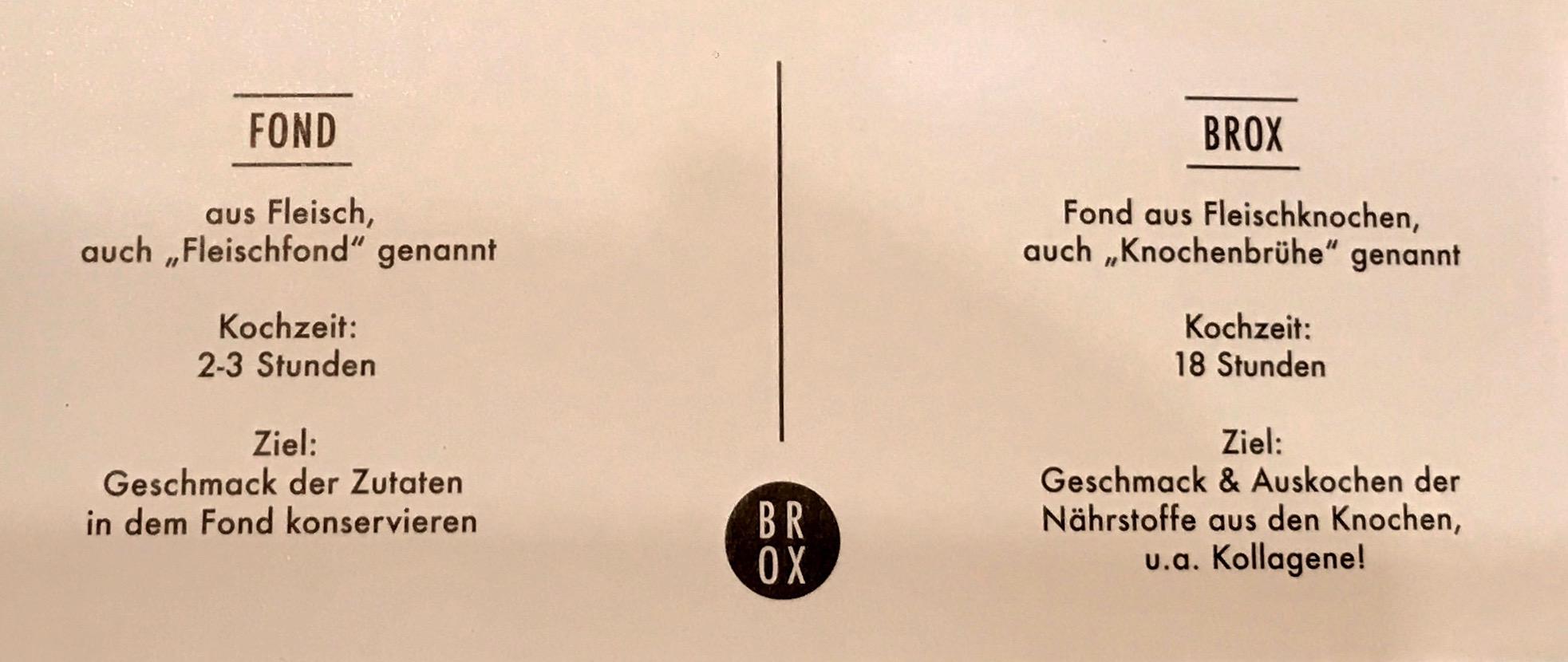 Brox-Knochenbrühe Banderole