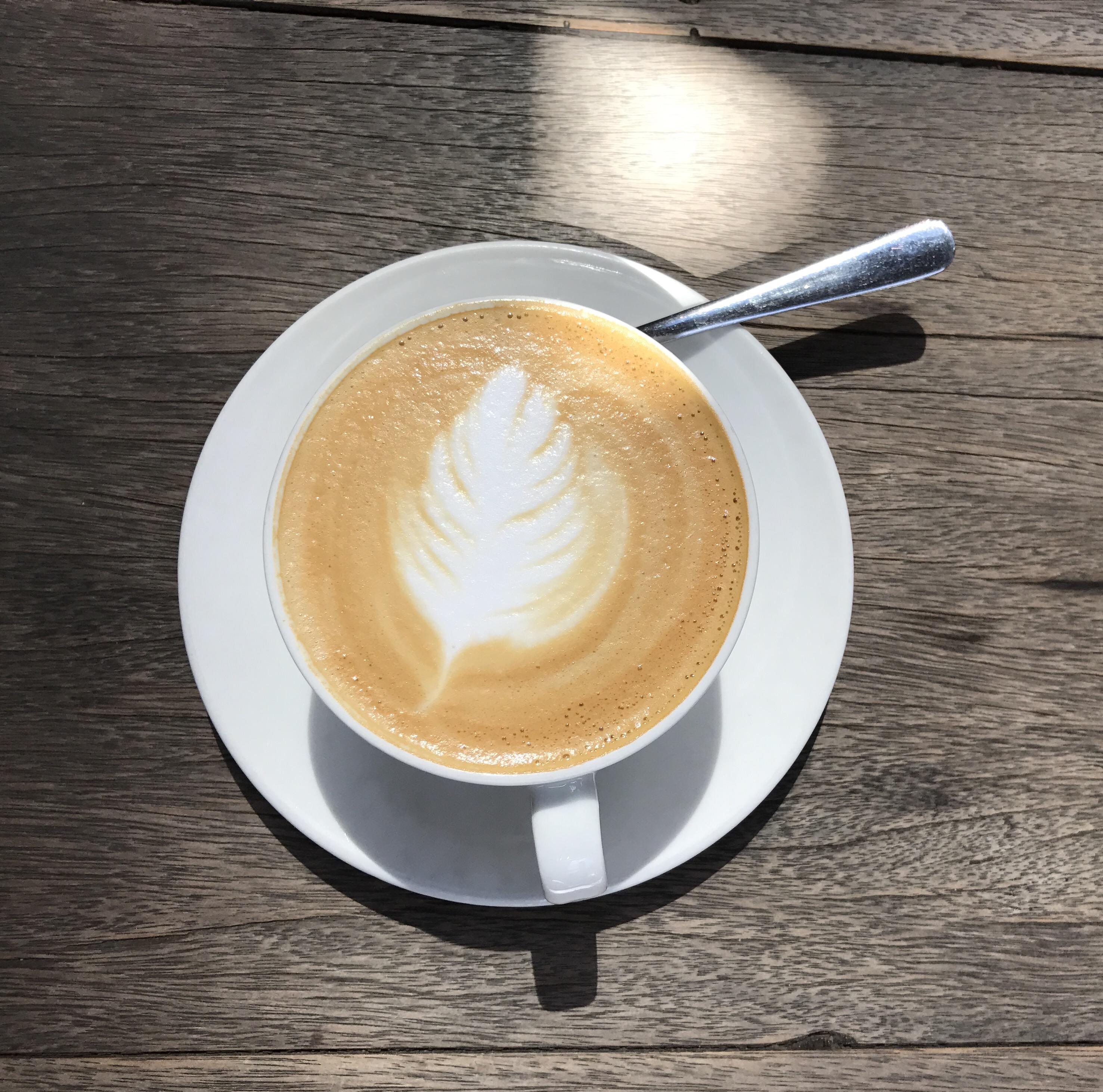 Kaffee mit Schaum
