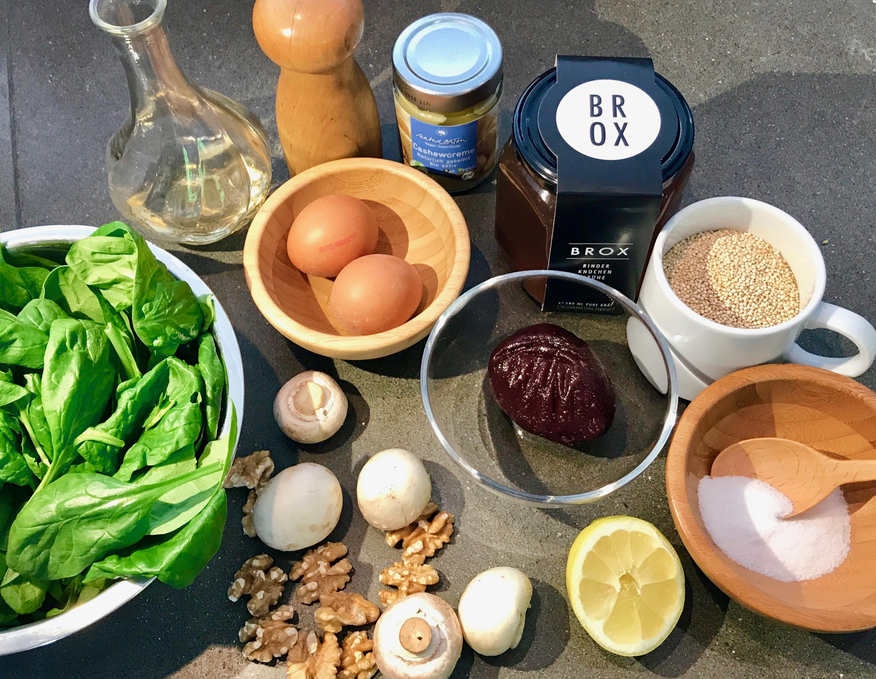 Zutaten für Brox Superfood Bowl